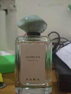 Zara perfume parfum accord no 2 oriental