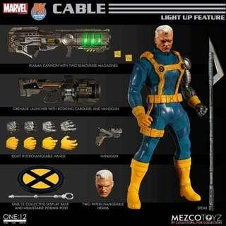 [PREORDER] Mezco One:12 Collective PX Cable Previews Exclusive