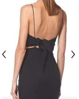 RENT/HIRE Black formal dress/gown Aus 6-8