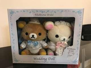 鬆弛熊結婚公仔 Relax bear wedding doll