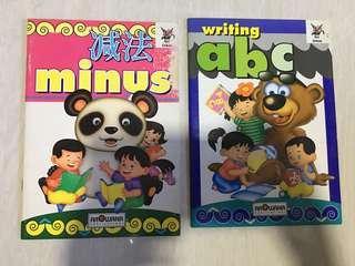 Kindergarten activity book