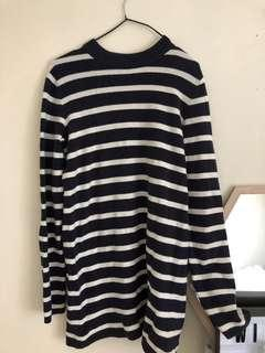 GAP Striped Knitted Dress