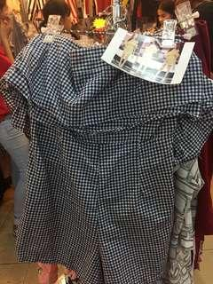 🆕 READY STOCK CHECKERED JUMPSUIT #DEC50