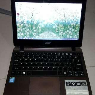 Notebook Acer Aspire E11 - Intel Celeron 2830 2GB 320GB 12inch