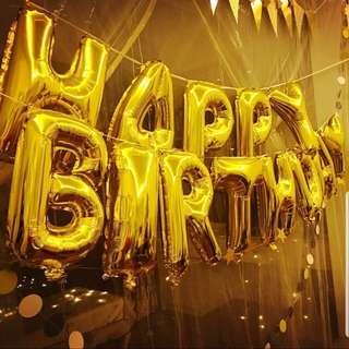 16 inch happy birthday balloons