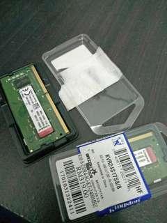 KINGSTON 2400MHZ 8GB RAM STICKS FOR LAPTOP