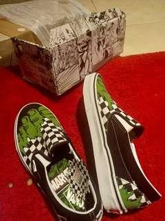 Vans Marvel Hulk original