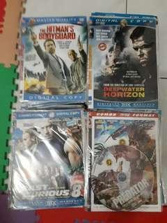 200pcs dvd