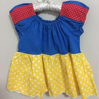 Snow White top for girls (size: 4T)