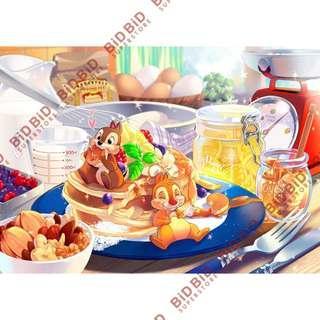 Chip n Dale 鋼牙 大鼻 Jigsaw Puzzle 砌圖 拼圖 108pcs 日本製 甜點的誘惑 Disney 迪士尼