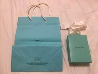 Tiffany & Co Jewelry Box and paper bag!