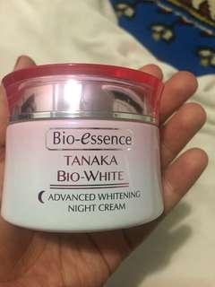 Bio Essence Tanaka Bio White Night cream