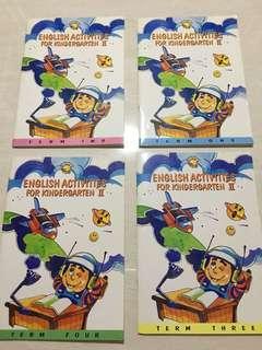 English activities for kindergarten II (4 books)