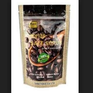 YOKO Coffee Salt Scrub 280grams