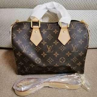 New Lv Speedy 25 Inspired Bag