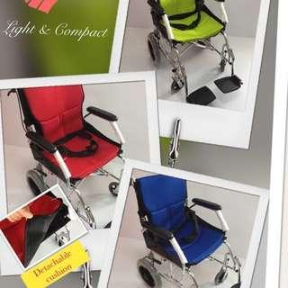 $185 -Ready stock -Brand New  Light Weight Aluminium Wheelchair / pushchair for sales