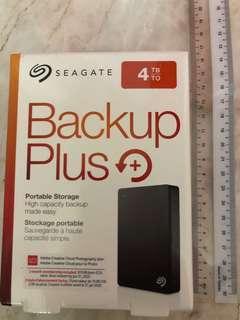 Seagate Backup Plus 4TB Portable Hard Disk