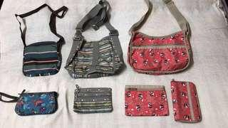 Lesportsac bags and accessories