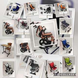 Brand new wheelchair starting from