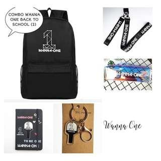 SPECIAL PREORDER - COMBO WANNA ONE BACK TO SCHOOL EXC.POS