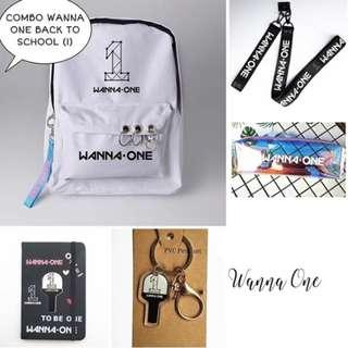 SPECIAL PREORDER - COMBO WANNAONE BACK TO SCHOOL EXC.POS