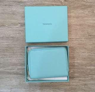 Tiffany and Co. travel wallet
