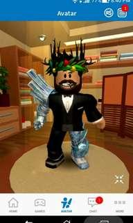 Roblox account (message me for username)