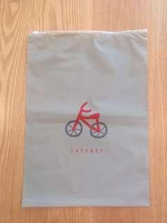 🚚 韓國safebet旅行袋收納袋(腳踏車)