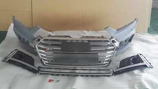 Audi A5 B9 Aftermarket S5 Kit with Grill