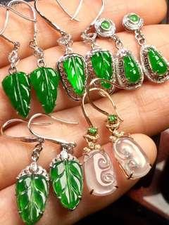 翡翠耳環Jade Earrings 18K