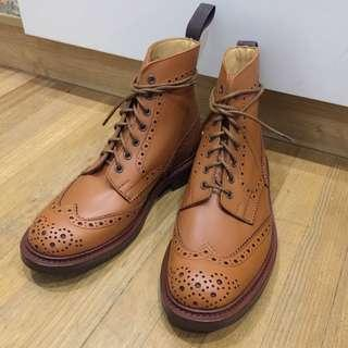 Tricker's Stow Brogue Boots (C Shade Tan)