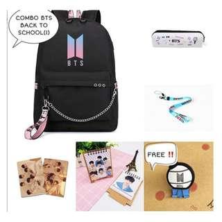 SPECIAL PREORDER - COMBO BTS BACK TO SCHOOL EXC.POS