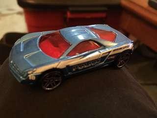 Hotwheels Police Cadillac Cien