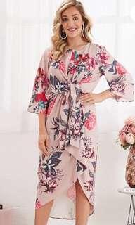 Fuchsia Floral dress from Australia (New!)