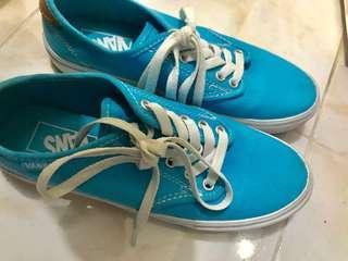 Original Vans Camden Blue Sneakers (Canvas)