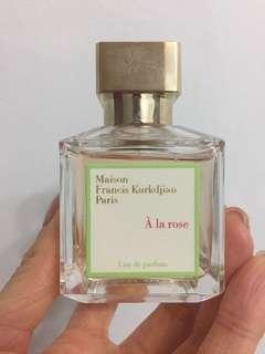 Maison Francis Kurkdjian À la rose