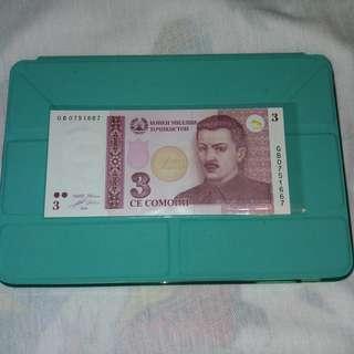 2010 塔吉克斯坦 3索莫尼