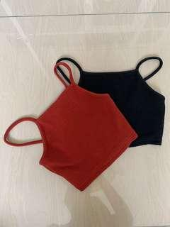 topshop's halter crop tops #DEC50