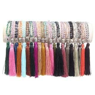 Tassel Necklaces, 4 Fashion Colours, free postage
