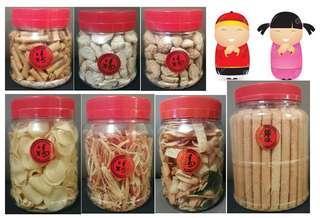 CNY Homemade Food Goodies