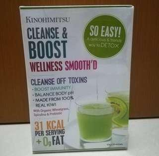 Kinohimitsu Wellness Smooth'D Cleanse & Boost (15 sachets)
