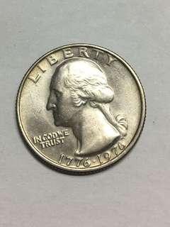 USA Quarter Dollar 1976; Bicentennial 1776-1976, Drummer