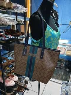 Authentic Coach Tote Leather Bag