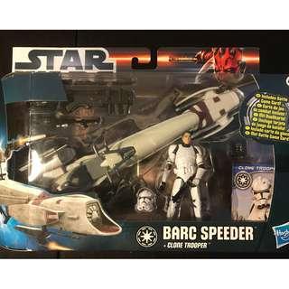 BARC Speeder + Clone Trooper