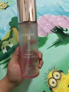 BOTOL KOSONG LANEIGE CLEAR C ADVANCED EFFECTOR