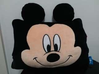 Disney 米奇 手枕頭 暖手枕
