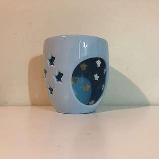 Dusk Soft Blue Oil Burner