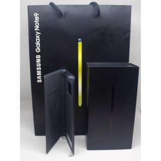Black Samsung Note 9 512GB /w FREE ORI Leather Cover