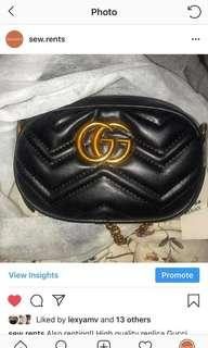 PRICE DROP: Gucci Bumbag/Belt Bag/Shoulder Bag