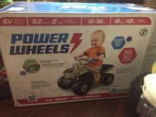 Brand new power wheels Yamaha quad